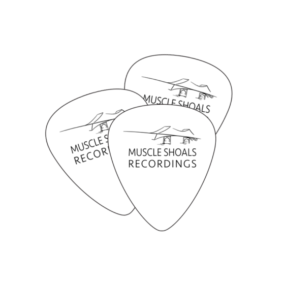 MSR Muscle Shoals Recordings Guitar Picks